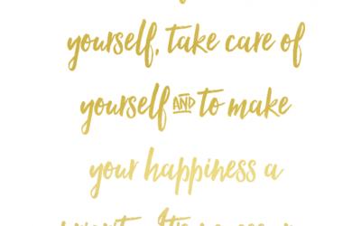 Zelfliefde - blog