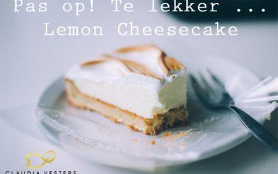 Lemon cheesecake recept