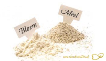 Wat is nu eigenlijk het verschil tussen bloem en meel