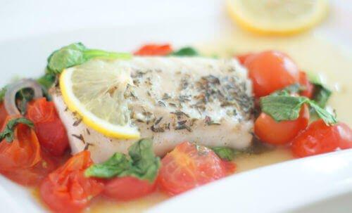Kabeljauw, een gezonde magere vis