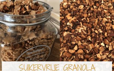 Zelf suikervrije granola maken