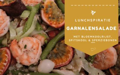 Garnalen salade - afslanken