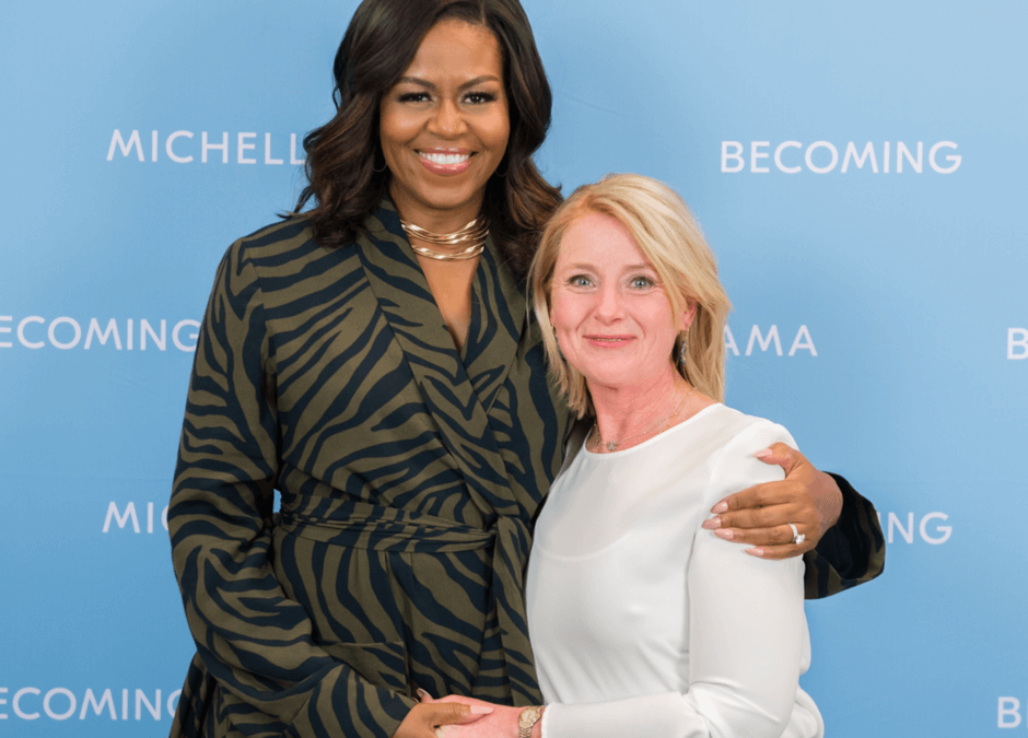 Meeting Michelle Obama - Claudia Vesters