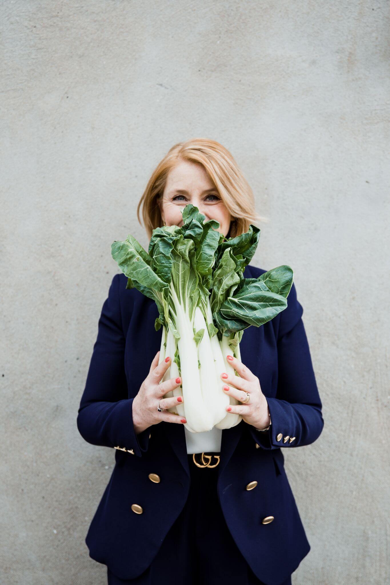 Claudia Vesters Afvallen streefgewicht Paksoi Portrait